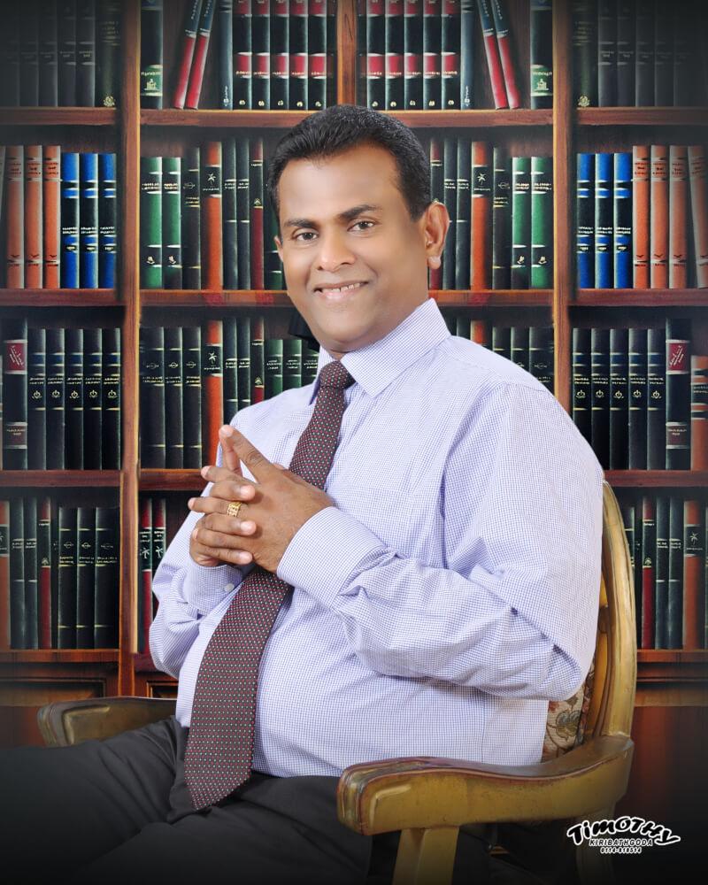 Portrait of Dr. Ananda Kulatunga